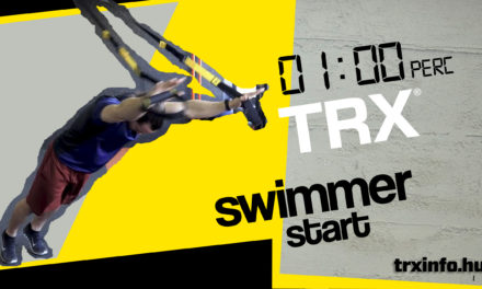 1 perc TRX – Swimmer Start
