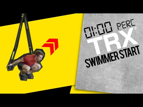 1 perc TRX | Swimmer Start